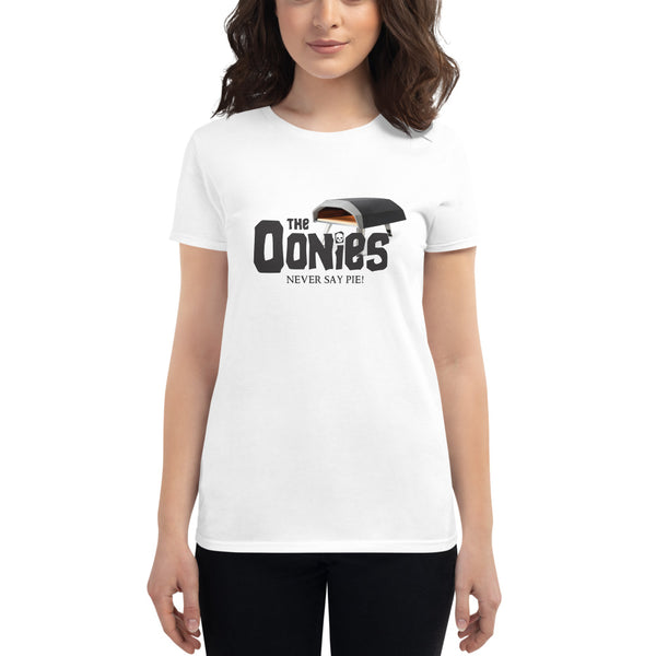 The Oonies Women's T-Shirt - Never Say Pie | Dark Logo