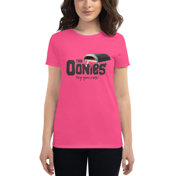 The Oonies Women's T-Shirt - Hey You Pies! | Dark Logo