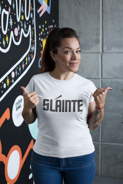 Sláinte Trek - Black Lettering | Womens T-Shirt