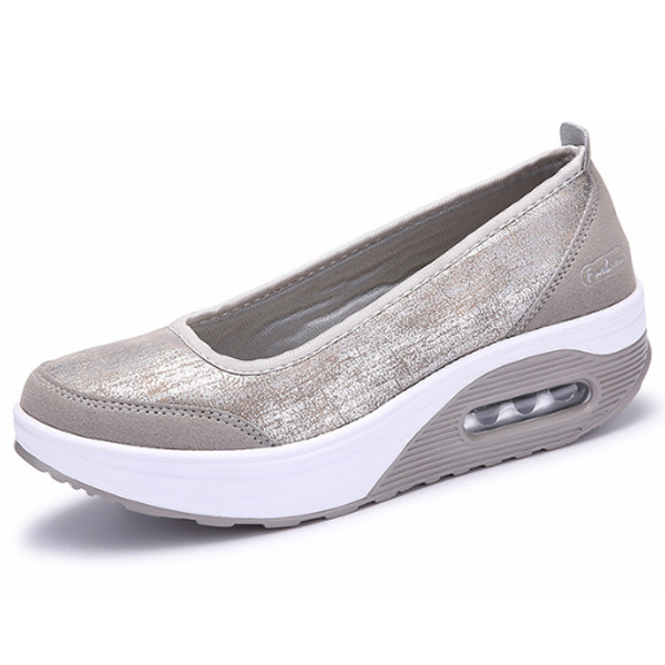 Comfy Slip-On Flat Platform Shoes