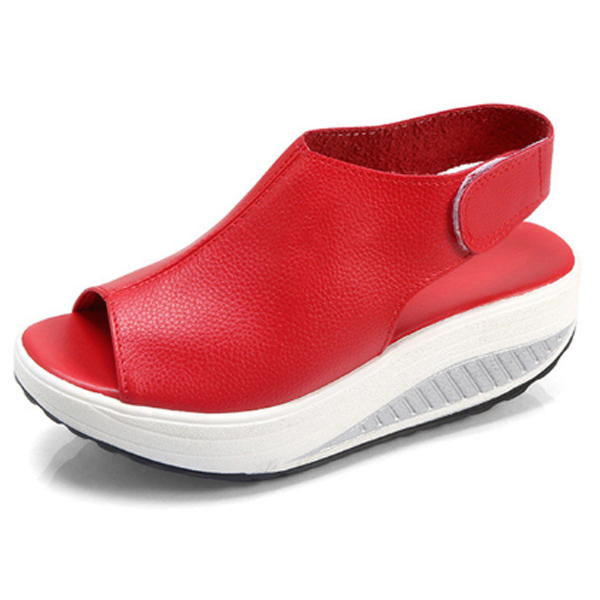 Comfy Slip-On Sandal Platform Shoes