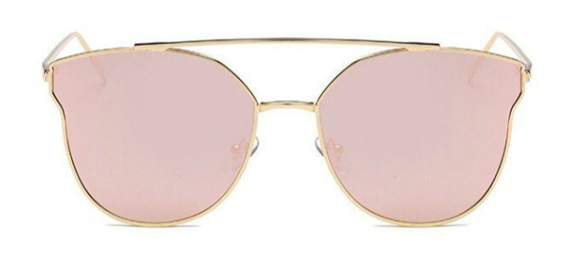 931585873f1 DOUBLE BAR CAT EYE GOLD PINK – House Of Shades Co.