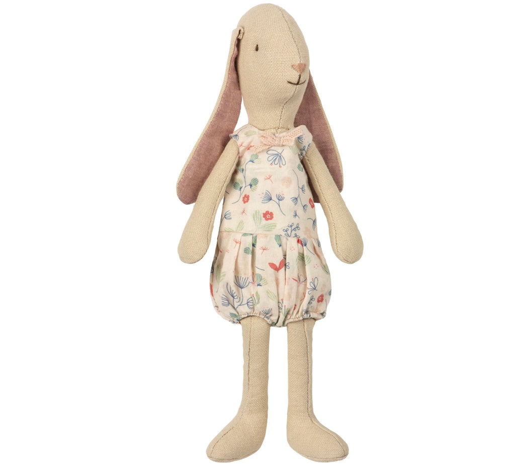 Maileg - Mini Light Bunny in Rose Suit