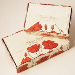 Rossi Note Cards - Poppies