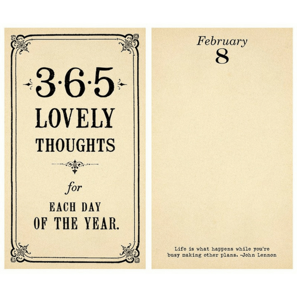 Sugarboo Designs 365 Lovely Thoughts for Each Day of the Year