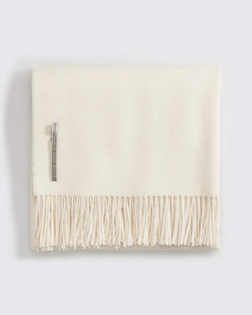 Alicia Adams Alpaca - Men's Fringe Scarf Various Colors