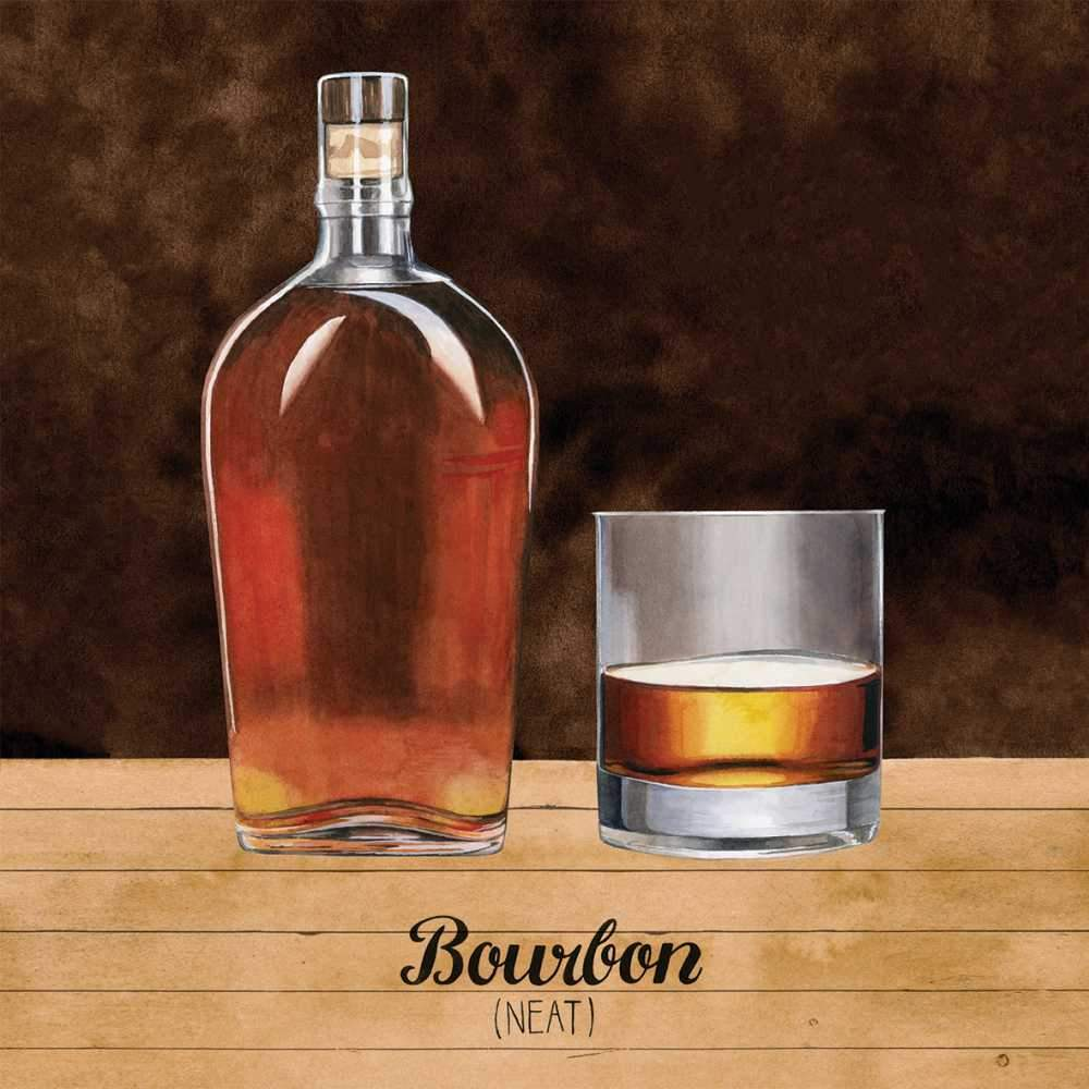 PPD Bourbon Beverage/Cocktail Paper Napkins