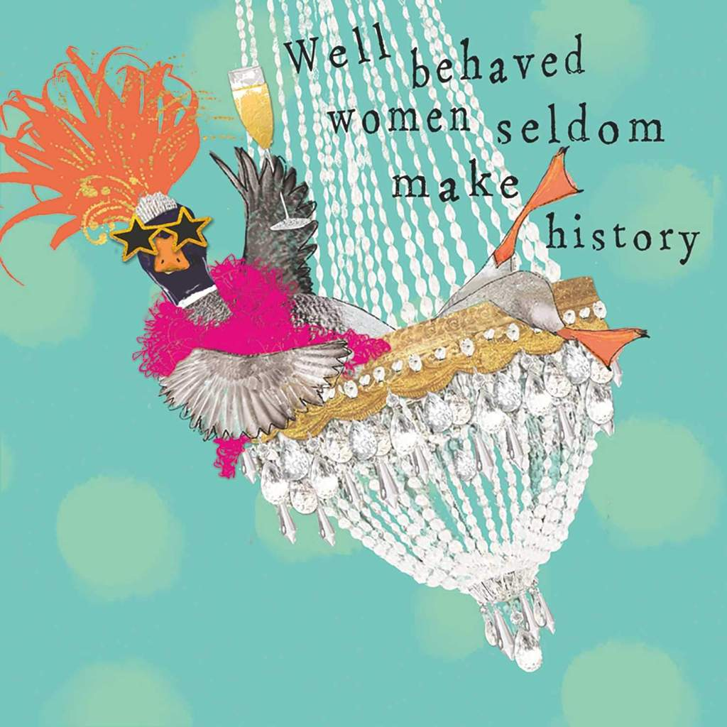 PPD - Well Behaved Women - Beverage/Cocktail Paper Napkins