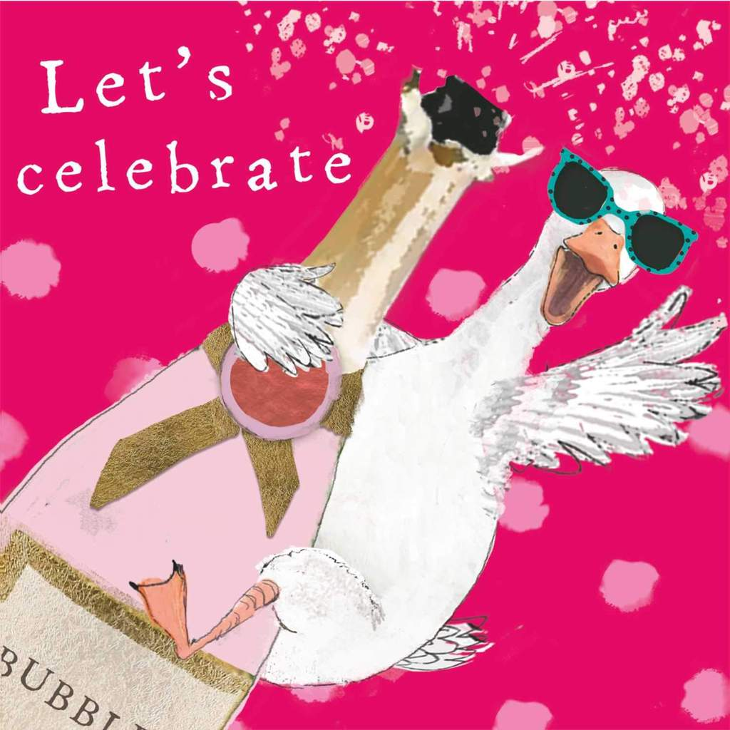 PPD - Let's Celebrate Beverage/Cocktail Paper Napkins