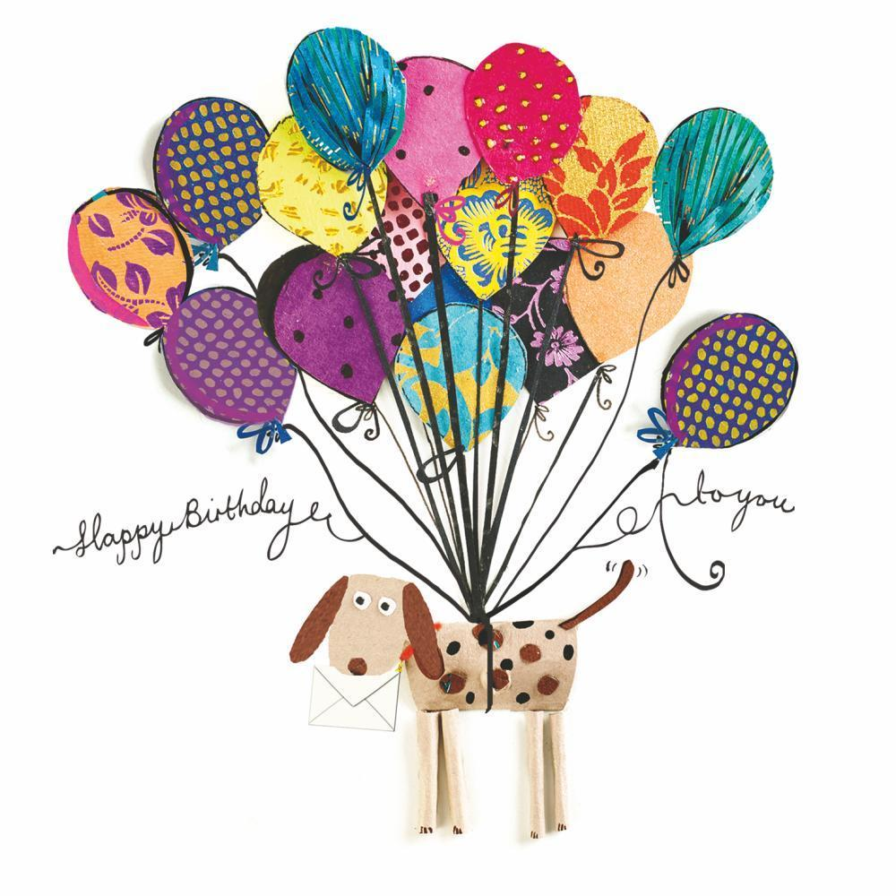 PPD - Artisan Dog Happy Birthday Beverage/Cocktail Paper Napkins