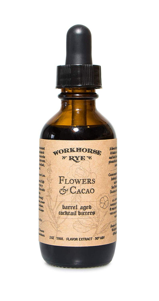 Workhorse Rye - Flowers & Cacao Bitters