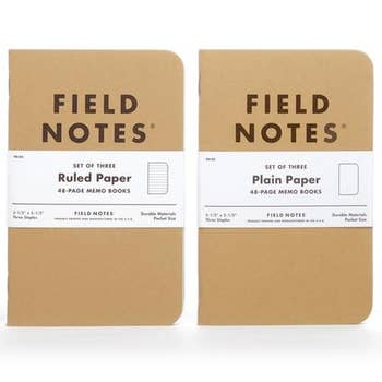 Field Notes - Original Kraft - 3 Pack