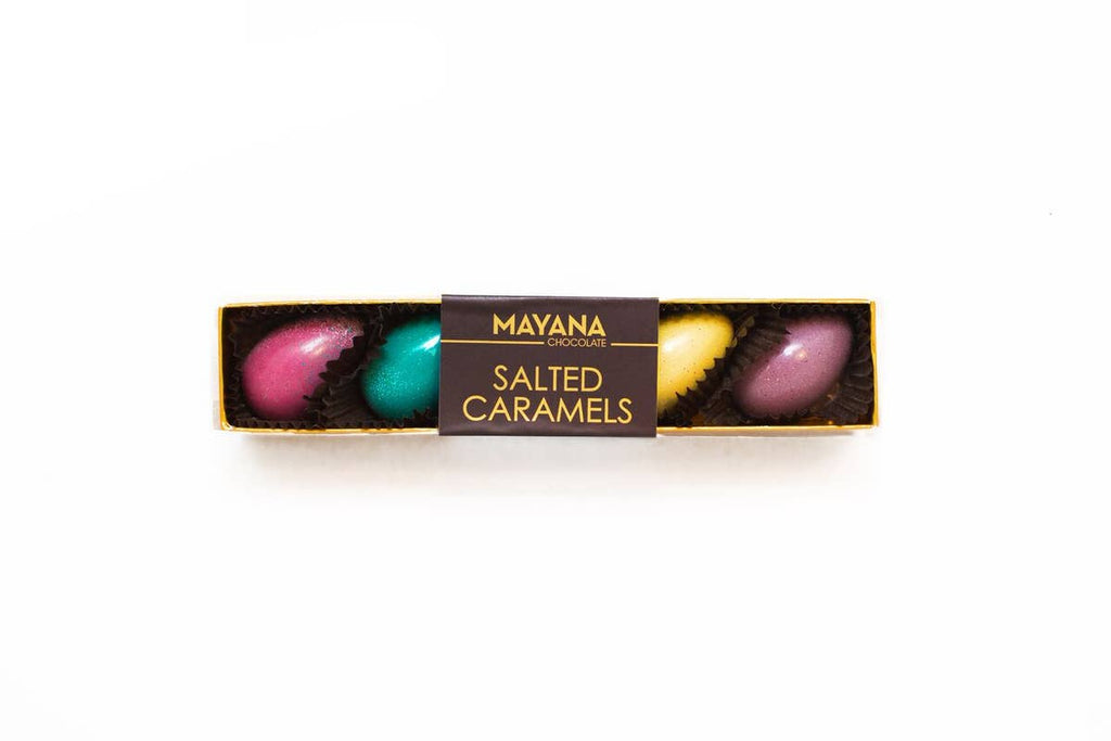 Mayana - 5 Salted Caramel Easter Eggs