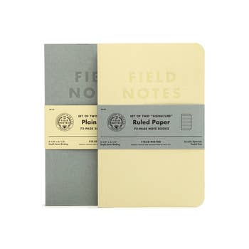 Field Notes - Plain Paper - 2 Pack