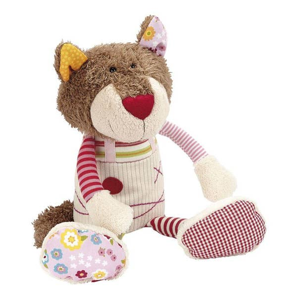 Sigikid Patchwork Sweety Pink Cat