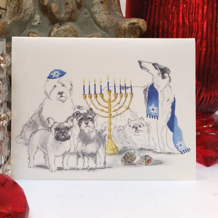 Fable & Sage Cards - Hanukkah Holiday Cards