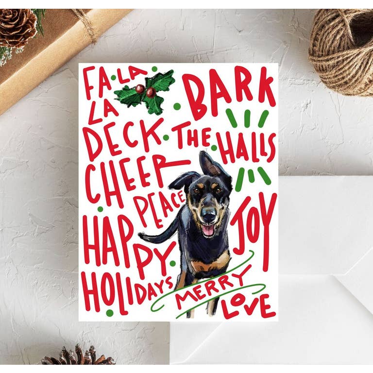 Fable & Sage Cards - Mixed Breed Holiday Cards