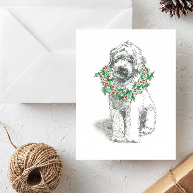 Fable & Sage Cards - Doodle Holiday Cards