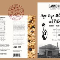 Banner Road Baking Company - Bye Bye Blues Granola
