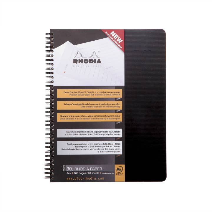 Rhodia - Rhodiactive Meeting Book A4