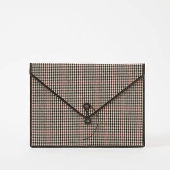 Baekgaard - Envelope Portfolio - Plaid