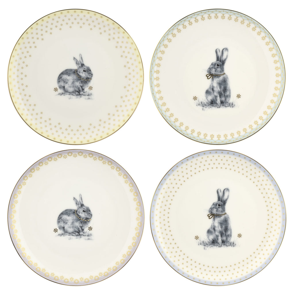 "Spode - Meadow Lane - Salad Plate 8.2""- Set of 4"