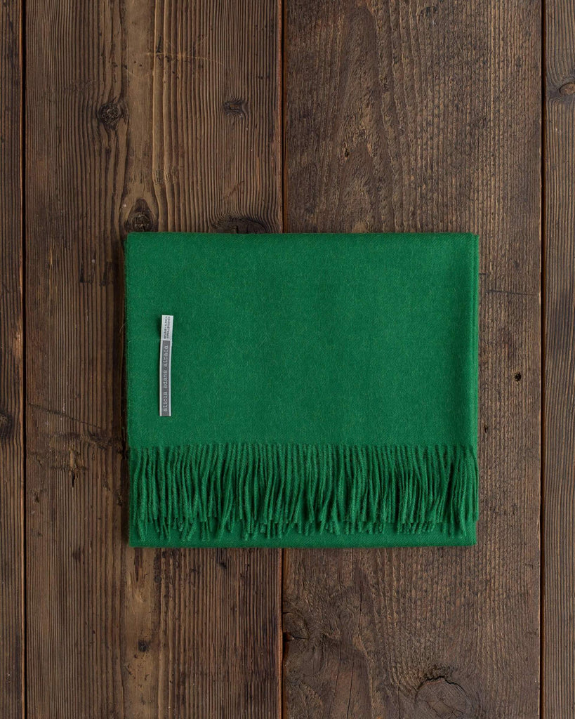 Alicia Adams Alpaca - Maxi Scarf Bottle Green