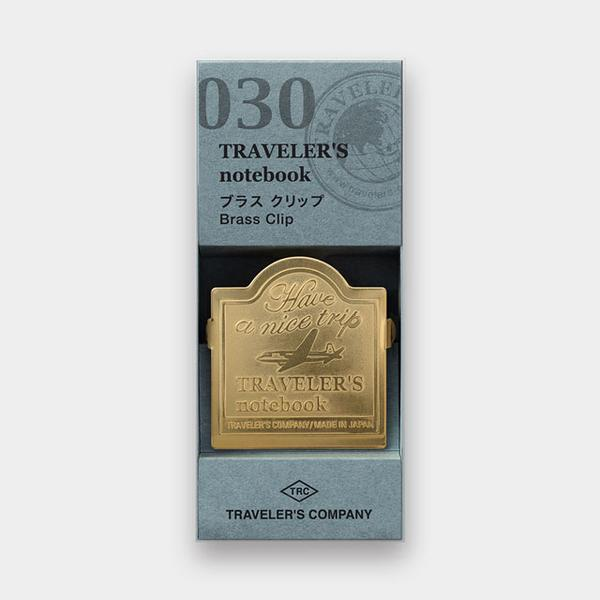 Traveler's Company - Brass Clip Airplane Pattern