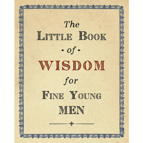 Sugarboo Designs The Little Book of Wisdom for FIne Young Men
