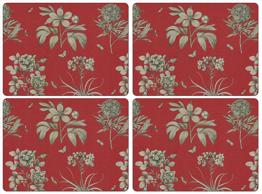 Pimpernel - Etchings & Roses Placemats - Set of 4