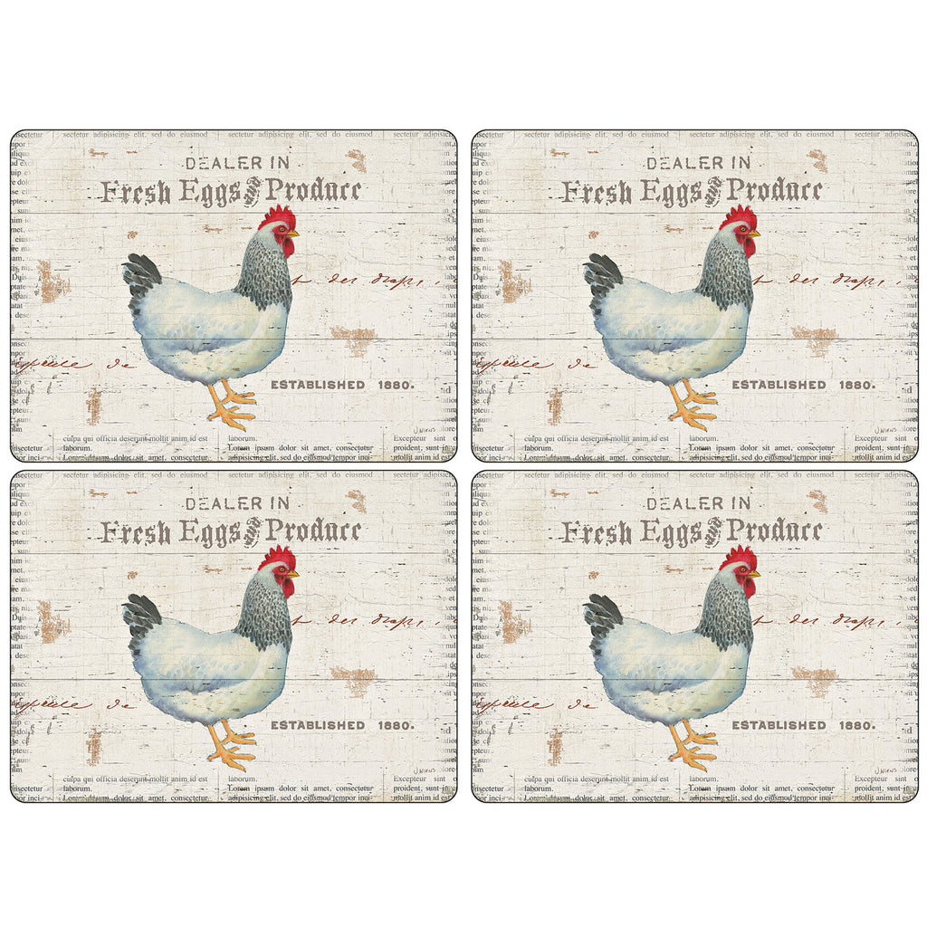 Pimpernel - On The Farm - Placemats - Set of 4