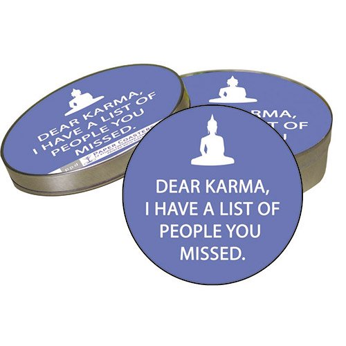 PPD - Dear Karma Coasters & Beverage/Cocktail Paper Napkins