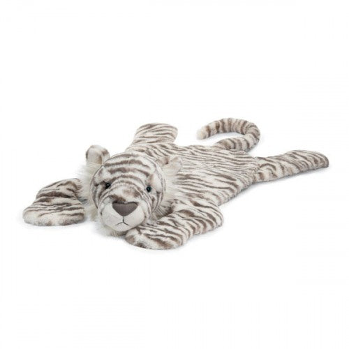 JellyCat - Sacha Snow Tiger Playmat