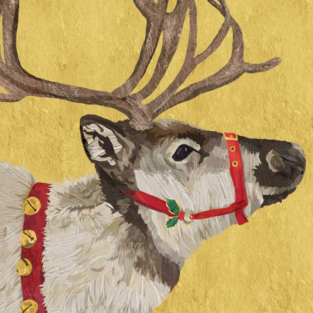 PPD - Yuletide Reindeer Luncheon Paper Napkins