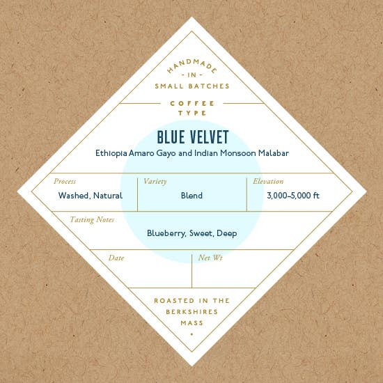 No. Six Depot - Blue Velvet Whole Beans