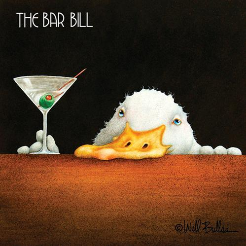 PPD - Bar Bill Beverage/Cocktail Paper Napkins