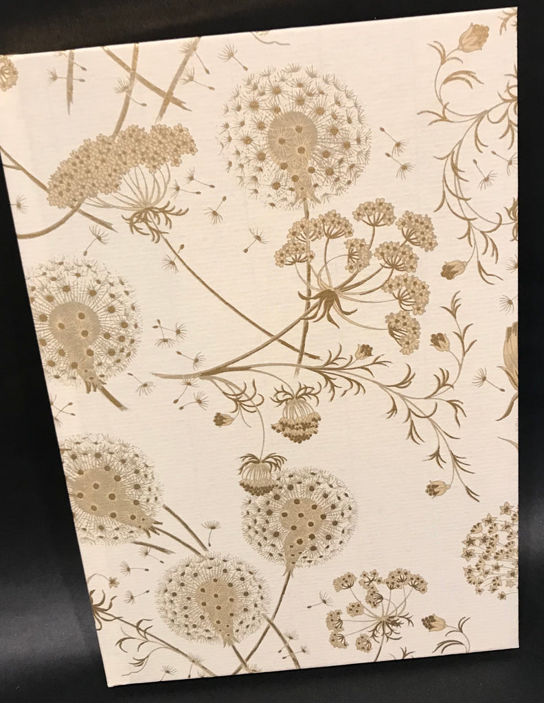 Rossi Notebook - Gold Dandilions