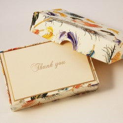 Rossi Thank You Cards - Feathers