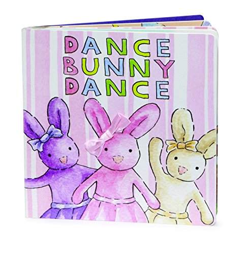 JellyCat Book Dance Bunny Dance Board Book