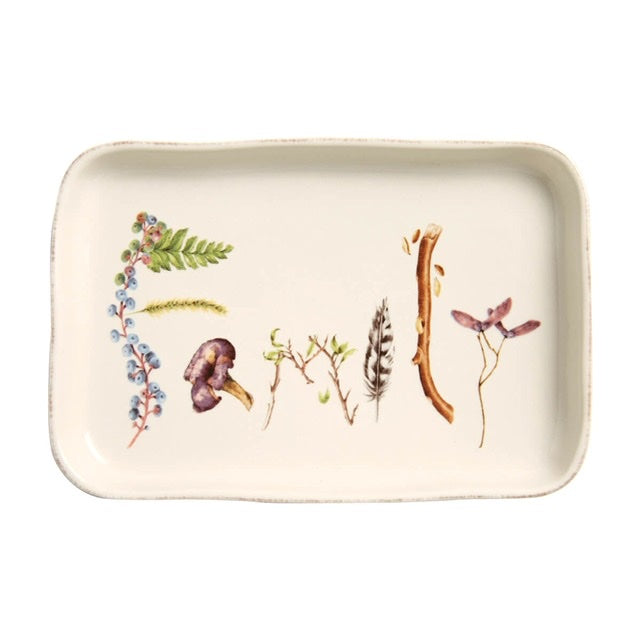 Juliska Forest Walk Gift Tray, Family