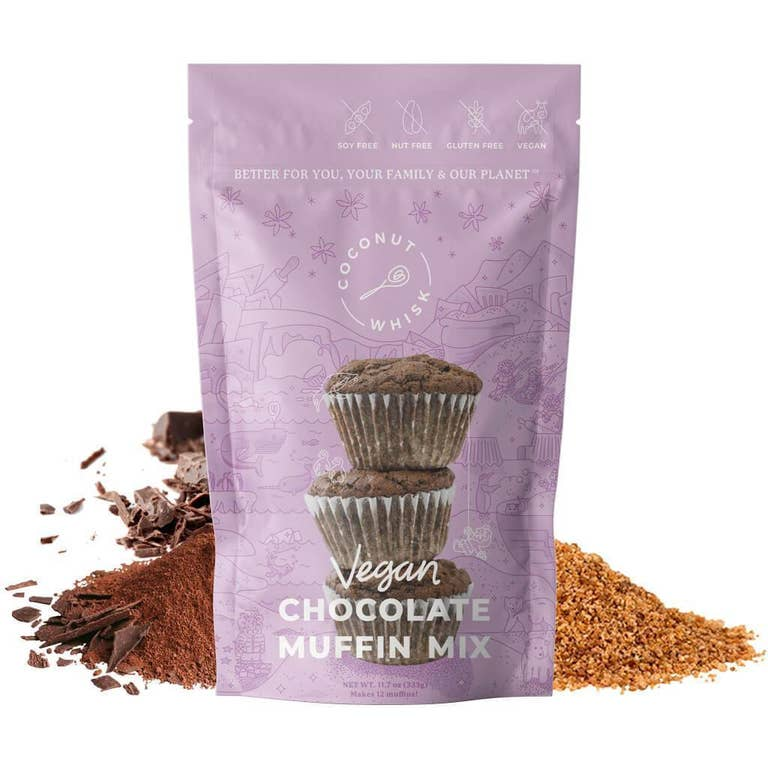Coconut Whisk - Chocolate Muffin Mix - GF / Vegan