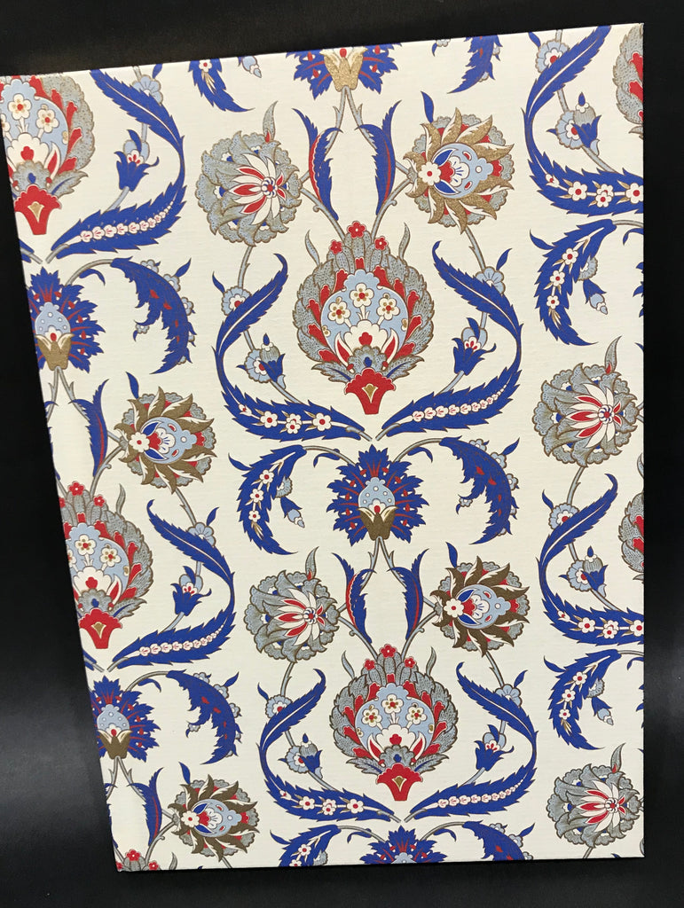 Rossi Notebook - Blue Acanthus