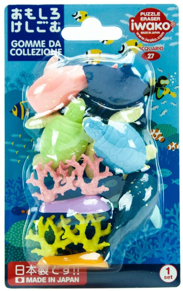 MD Paper - Aquarium Eraser Set