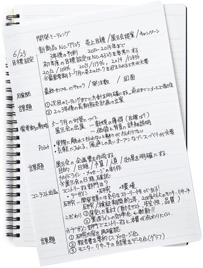 Maruman - Mnemosyne Special Memo Notebook - A5 - 7mm Rule
