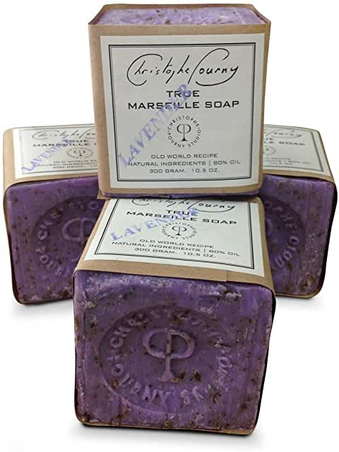 Christophe Pourny Studio - 300 gr. Lavender Marseille Soap