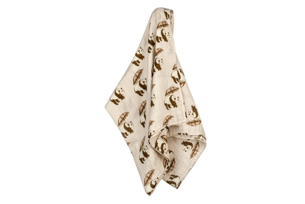 Milkbarn Bamboo Cotton Swaddle