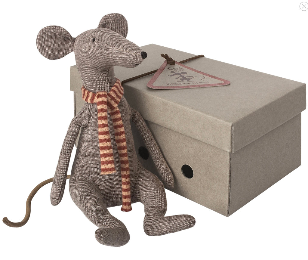 Maileg - Cool Rat, Grey
