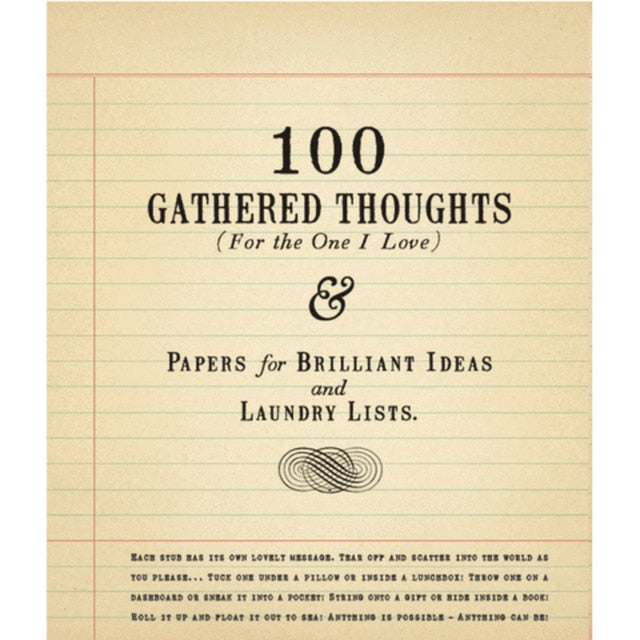 Sugarboo Designs - 100 Gathered Thoughts (For The One I Love)