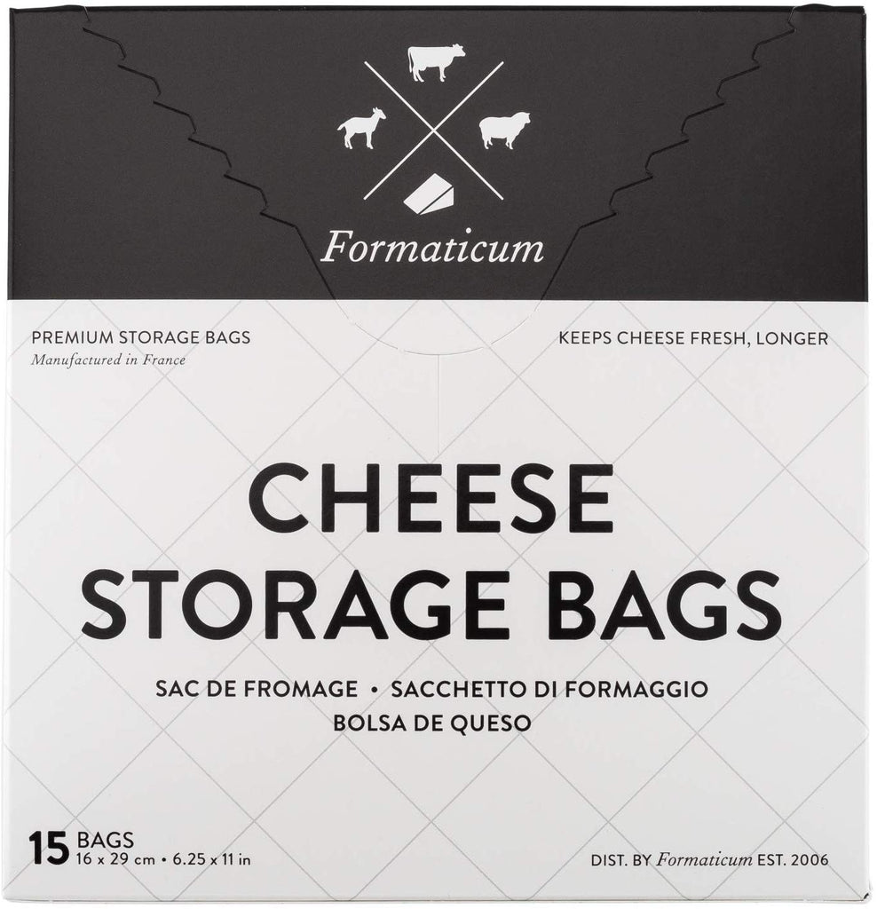 "Cheese Storage Bags: (6.25"" x 11"") 15 cheese bags"