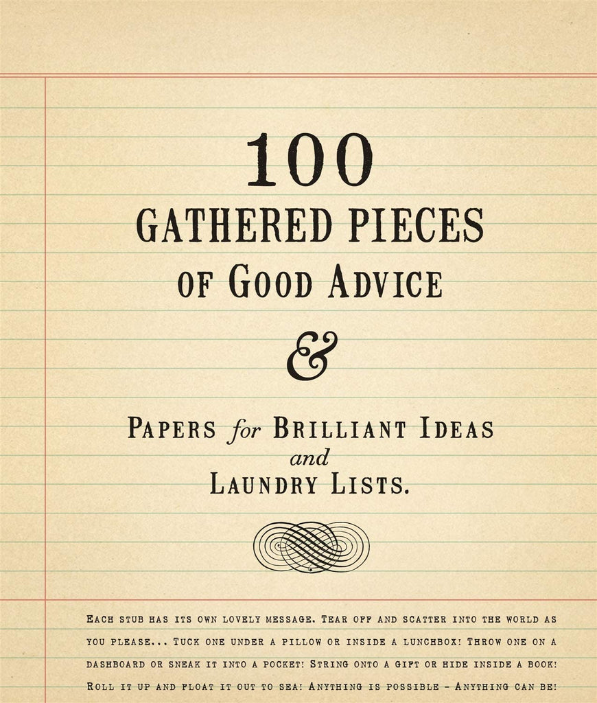 Sugarboo Designs - 100 Gathered Pieces of Good Advice & Laundry Lists